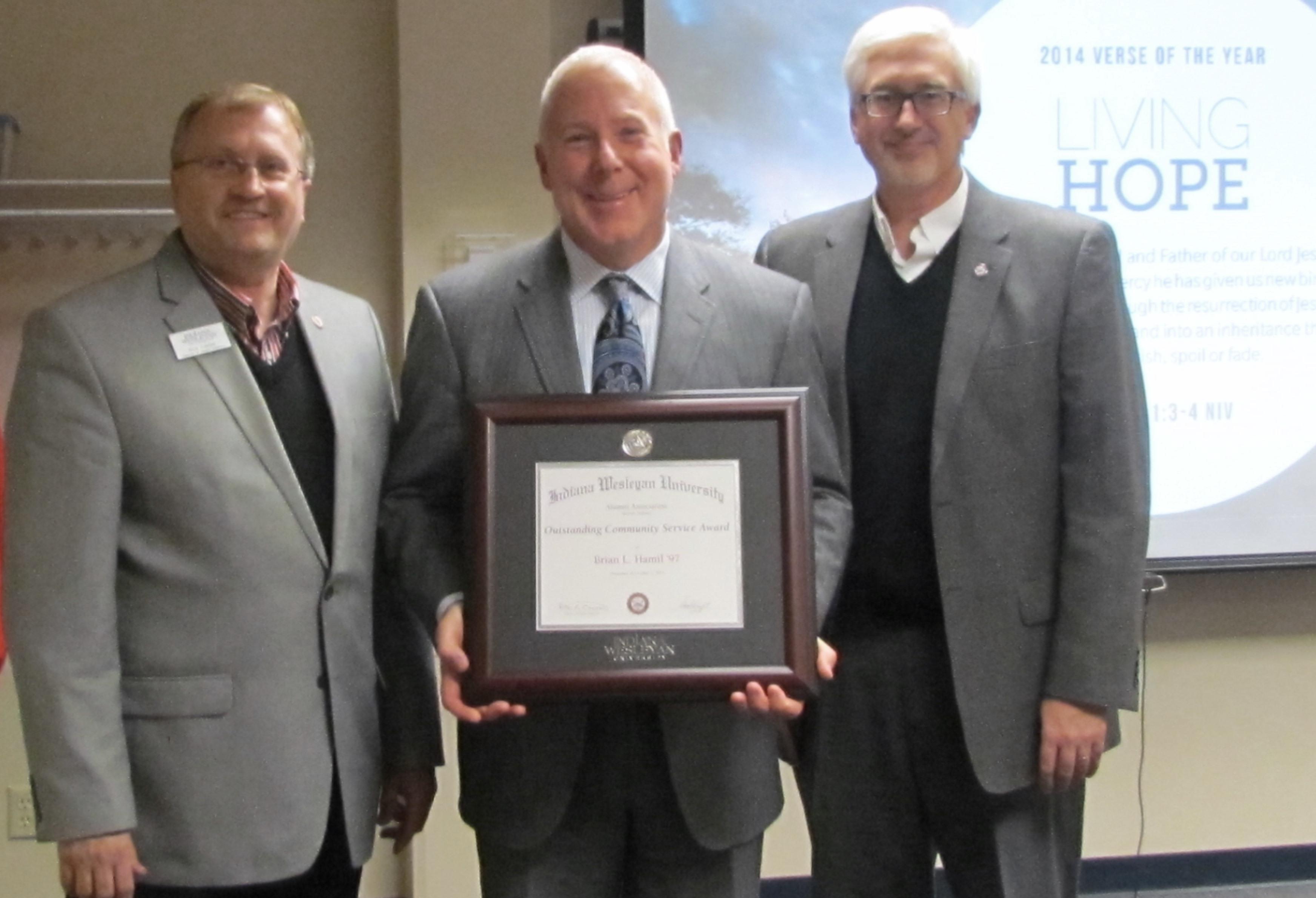 Alumni Community Service Award
