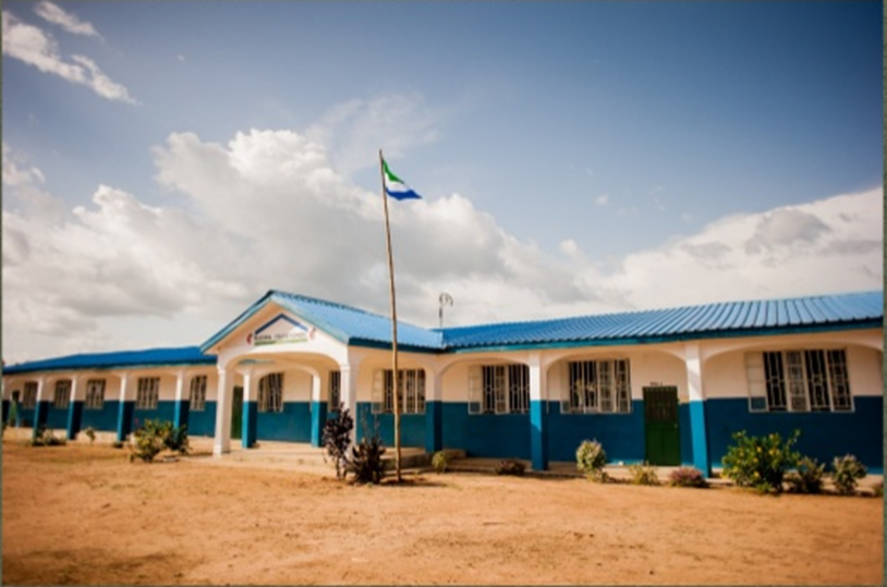 (One of Madina Village School's two academic buildings.)