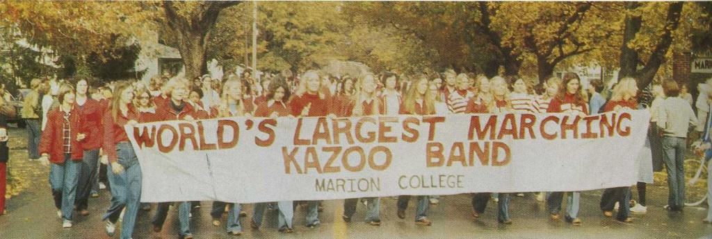 p. 72 Kazoo Band (in color) 1977