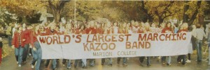 Largest Kazoo Band of it's kind in 1975