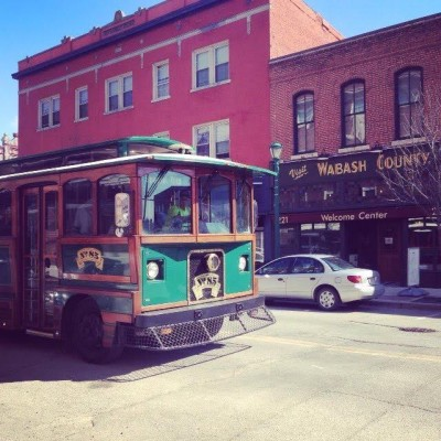 Downtown Wabash Trolley