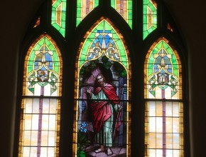 Stained glass image 1