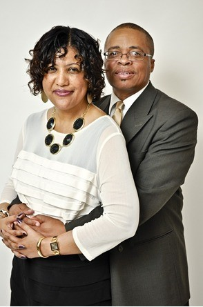 Rev. Moorer and his wife.