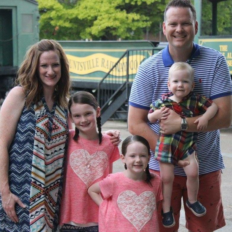 Brian Bradford and his family